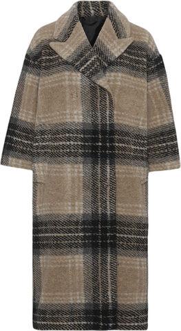 2ND Pecan - Check Wool