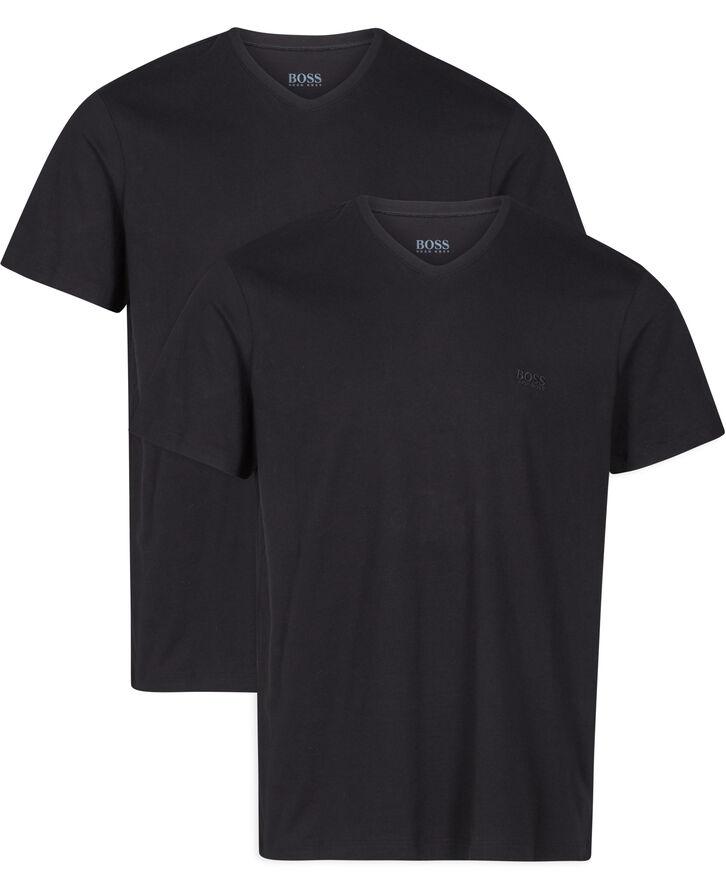 V neck T-shirt 2-pak