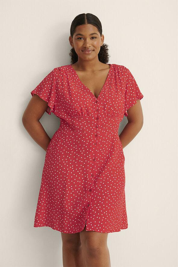 Mini Buttoned Dress