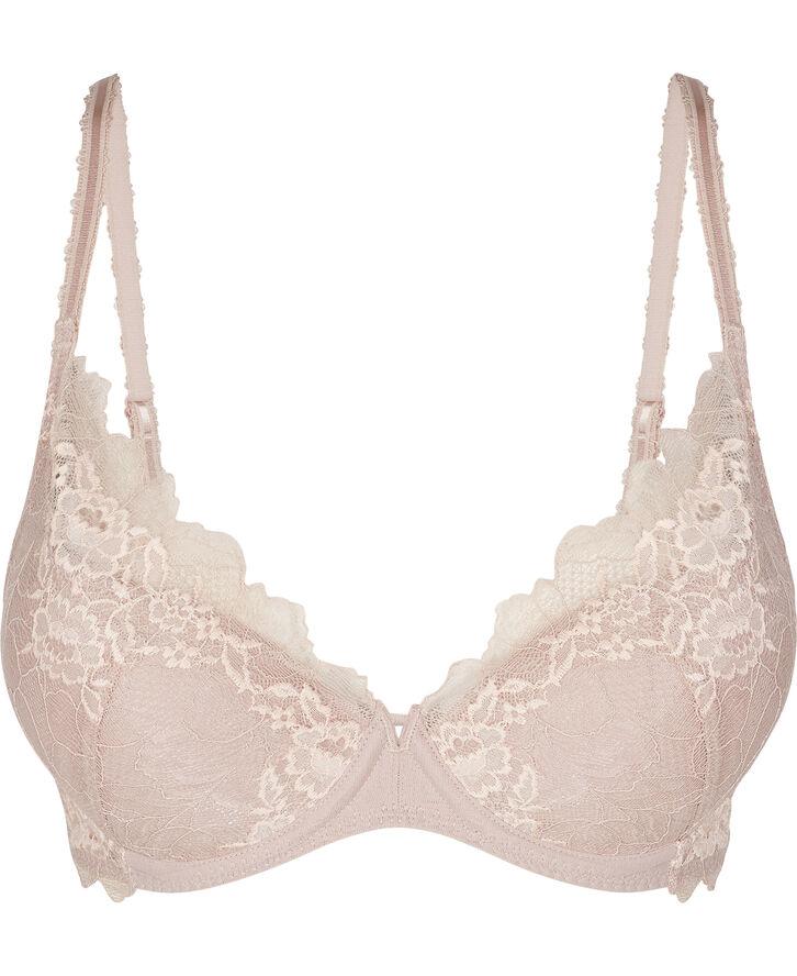 Lace perfection push up bra