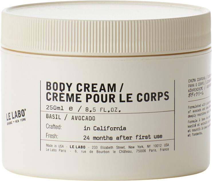 Body Cream - Basil